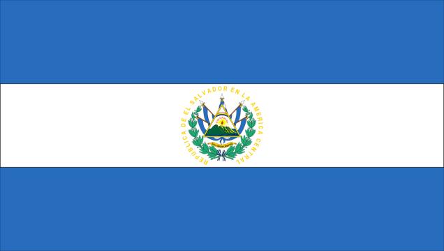 Le drapeau du salvador les plus beaux drapeaux du monde - Quel est le nom le plus porte au monde ...