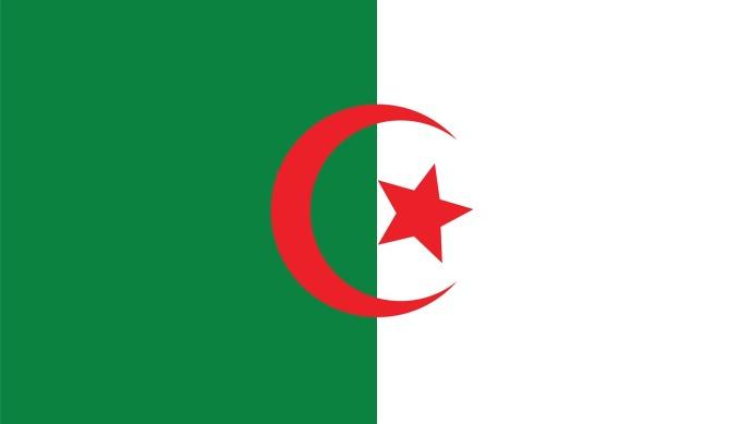 drapeau de l algerie - Image