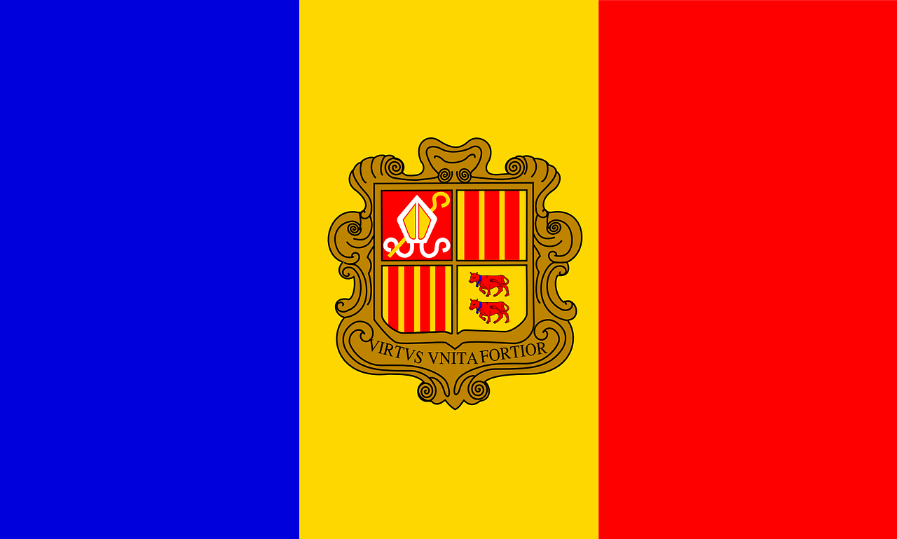 Andorra Flag Symbol