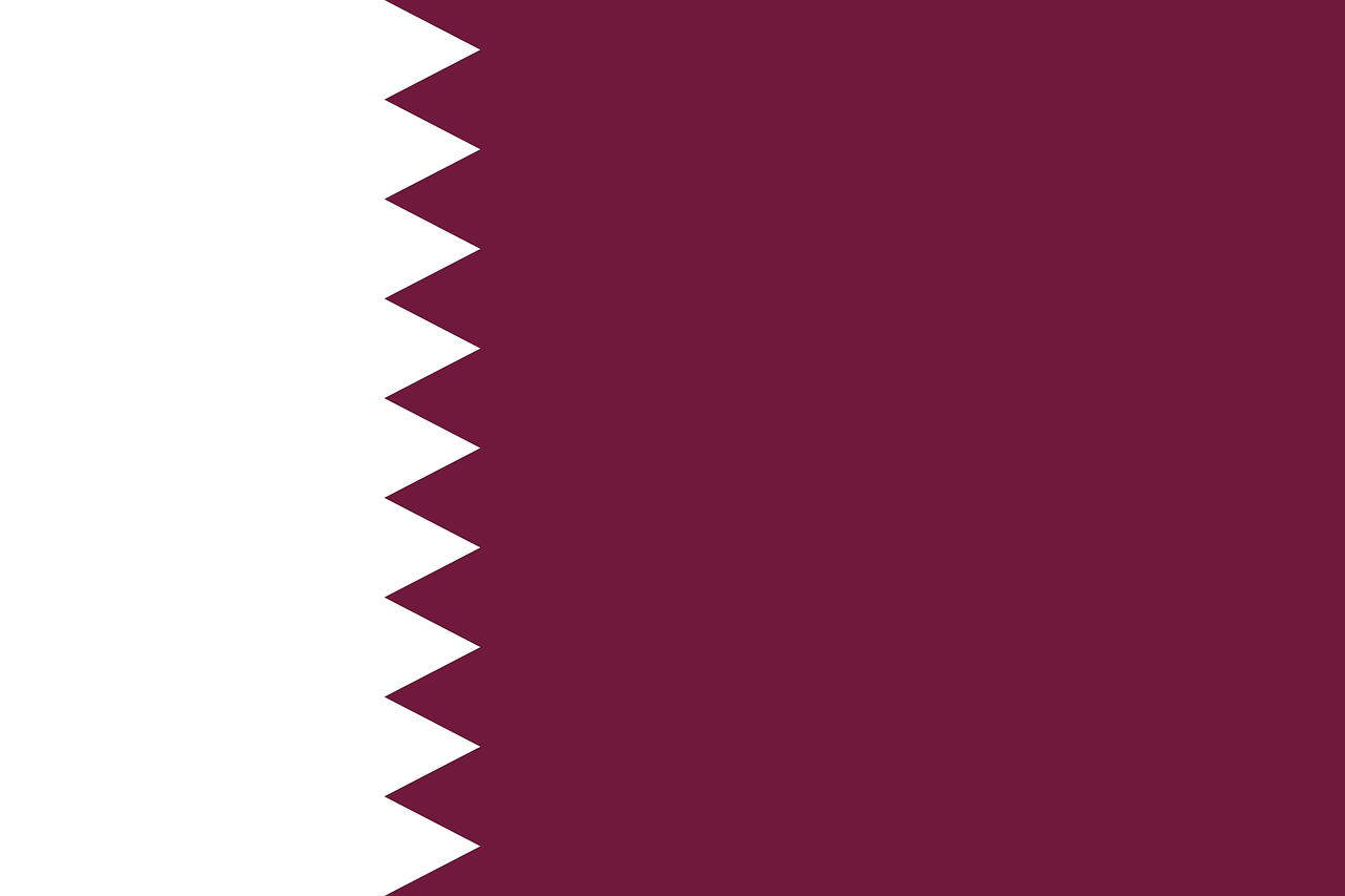 photo drapeau qatar-