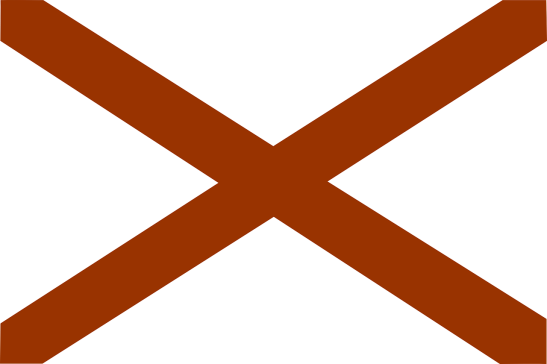 Le drapeau de l'Alabama
