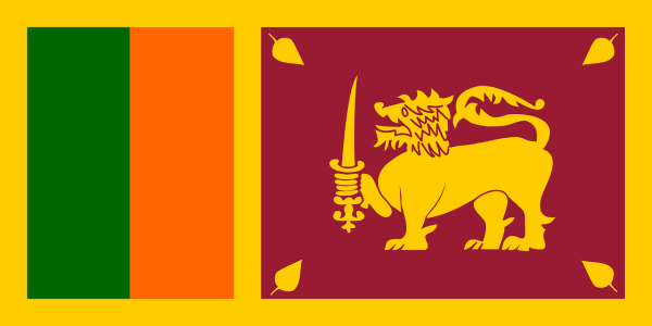 Le drapeau du Sri Lanka