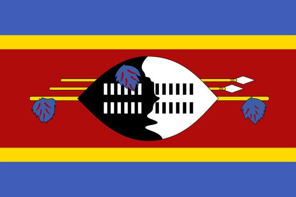 Le drapeau du Swaziland