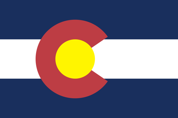 Le drapeau du Colorado