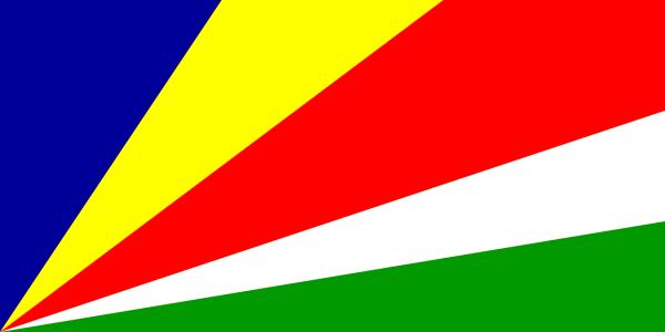 Le drapeau des Seychelles