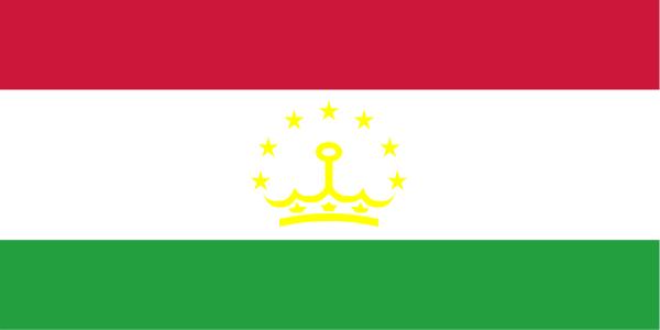 Le drapeau du Tadjikistan